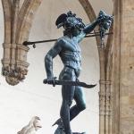 Perseo e Medusa di Benvenuto Cellini di giorno di Stefano Sansavini