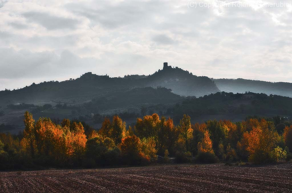 Val d\'Orcia -Rocca d\'Orcia